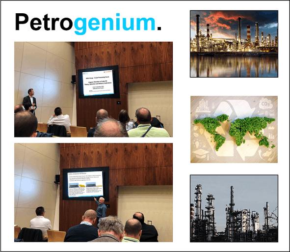 Petrogenium at Crude Processing forum in Hungary